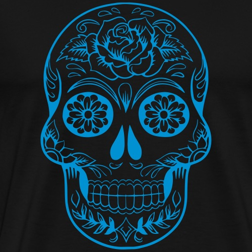 Tête de mort mexicaine - T-shirt Premium Homme