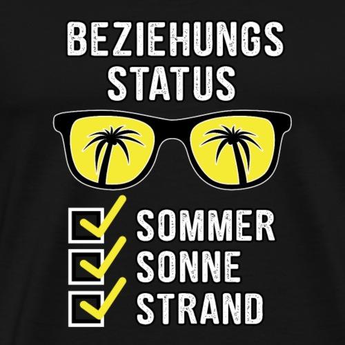Beziehungsstatus Mallorca Party Drinking Crew - Männer Premium T-Shirt