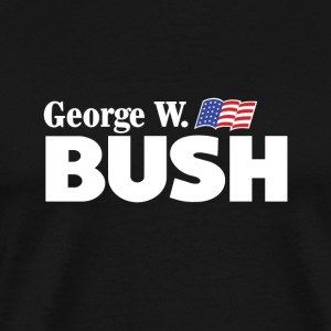 George W Bush For President - Premium-T-shirt herr