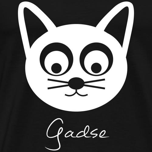 Gadse (heller Print) - Männer Premium T-Shirt