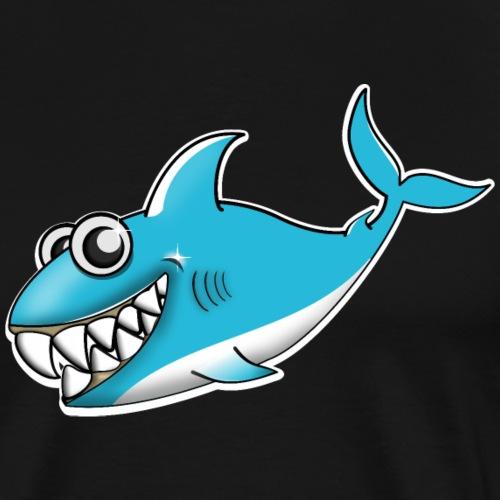 Hai Comic Geschenkidee - Männer Premium T-Shirt