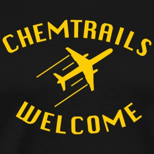chemtrails Welcome - Premium-T-shirt herr