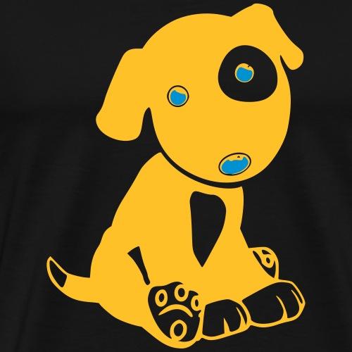 Hund niedlich - Männer Premium T-Shirt