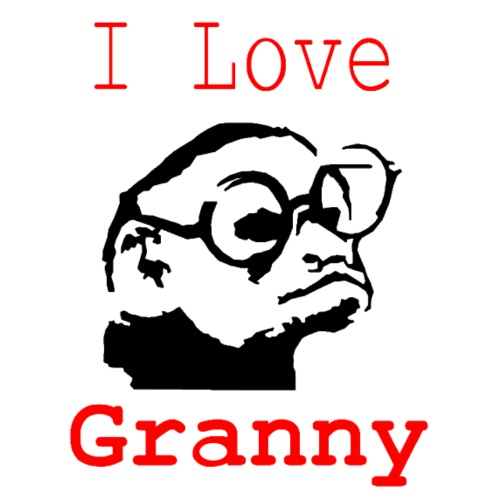 My monkey granny - T-shirt Premium Homme