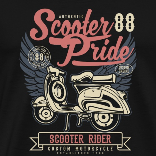 Roll and Rider - Männer Premium T-Shirt