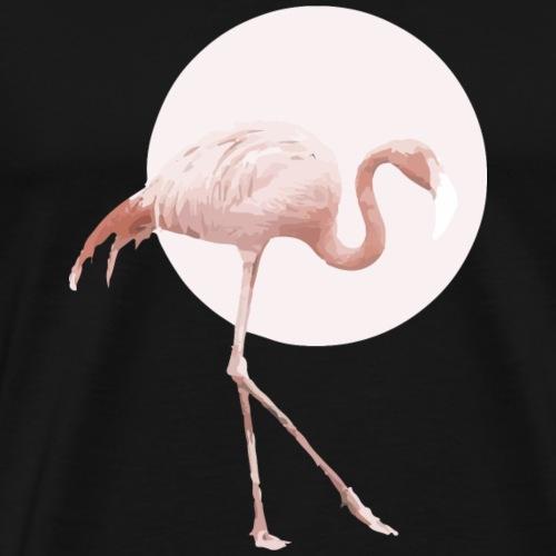 Flamingo Rosa - Männer Premium T-Shirt
