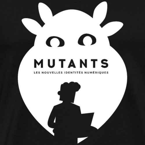 mutant H blanc - T-shirt Premium Homme
