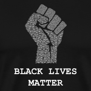 Svart Lives Matter T-skjorte - Civil Rights Freds - Premium T-skjorte for menn