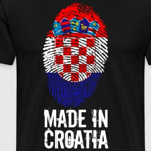 Made in Croatia / Made in Croatia Hrvatska - Men's Premium T-Shirt