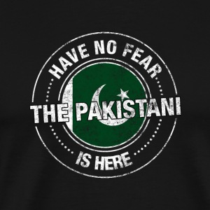 Have No Fear The Pakistani Is Here Shirt - Men's Premium T-Shirt