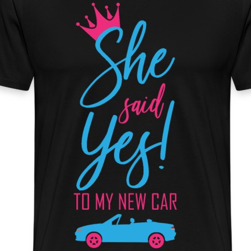 She said Yes! - Männer Premium T-Shirt