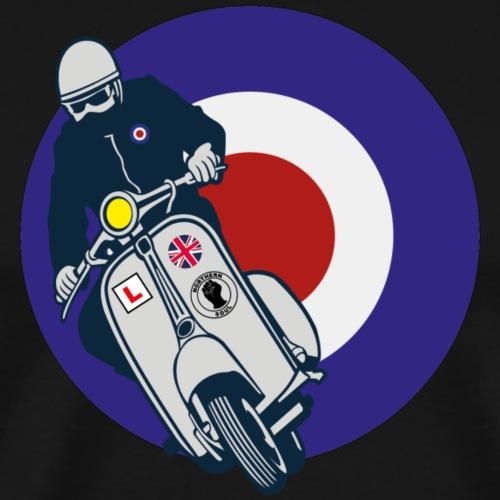 UK Mod Target Roller - Männer Premium T-Shirt