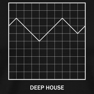 DEEP HOUSE AMPLITUDE - Men's Premium T-Shirt