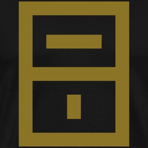ExtraMoist Squared Emblem - Männer Premium T-Shirt