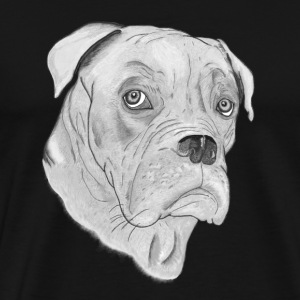 Hund Dogue de Bordeaux - Männer Premium T-Shirt