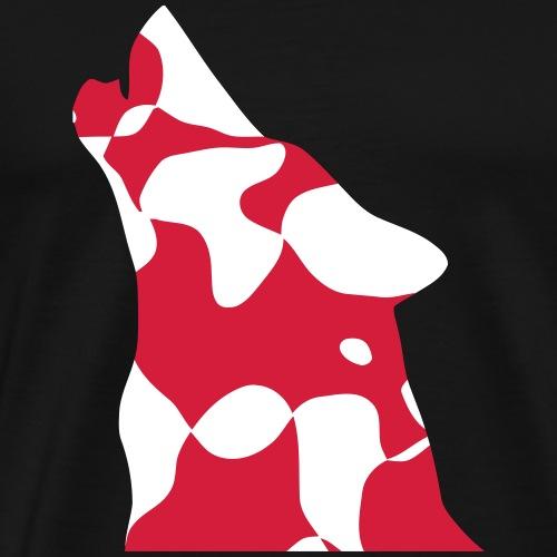 TURKEY Türkiye WOLF kurt - CAMO / CAMOUFLAGE - Männer Premium T-Shirt
