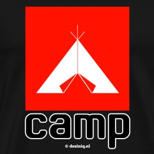 Camp - Mannen Premium T-shirt