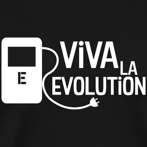Elektroauto - Viva la Evolution - Männer Premium T-Shirt
