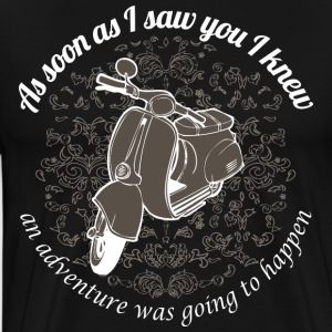 Vespa - As soon as I saw you I knew... - Männer Premium T-Shirt
