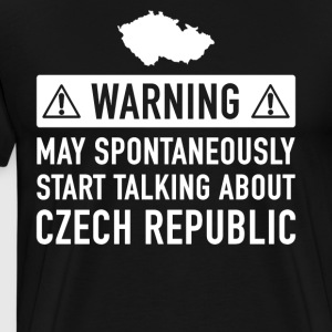 Funny Czech Gift Idea - Men's Premium T-Shirt