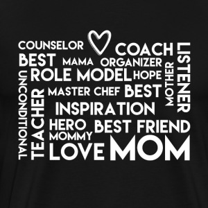 LoveMom - Mothersday - Men's Premium T-Shirt