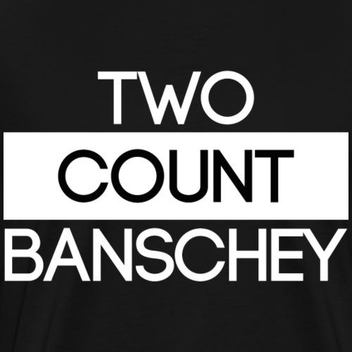 ''Two Count Banschey'' white - Männer Premium T-Shirt