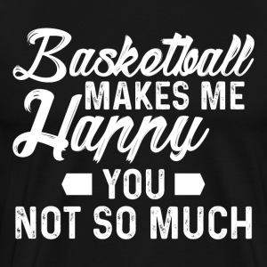 Basketball happy - Men's Premium T-Shirt
