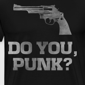 Revolver 29, do you punk dirty guns t-shirt - Men's Premium T-Shirt