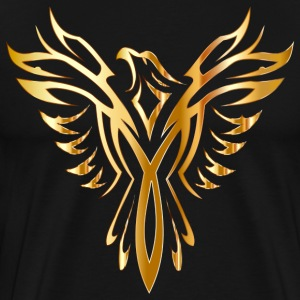 Like Phoenix from the ashes gold golden fenix - Men's Premium T-Shirt