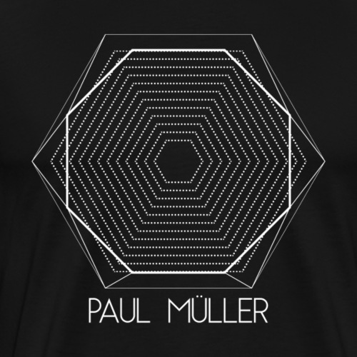 Romancity Paul Müller White - Men's Premium T-Shirt