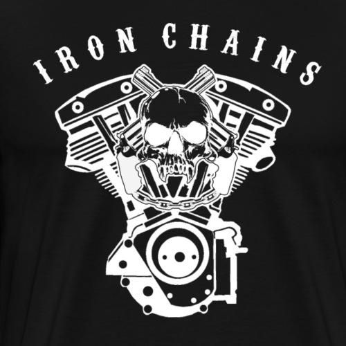 Iron Chains engine 2 0 black - Männer Premium T-Shirt