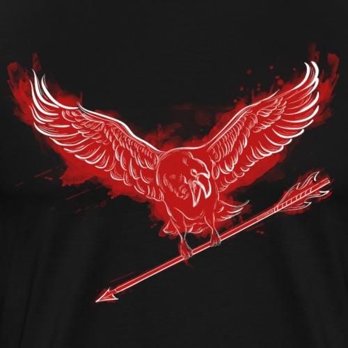 The Harbinger – Red (Bogenschiessen by BOWTIQUE) - Männer Premium T-Shirt