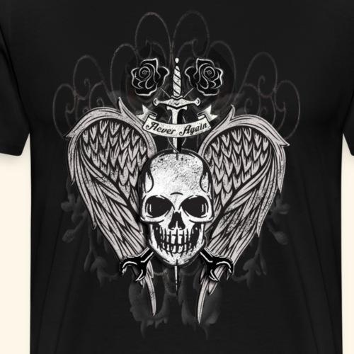 Dolch durch den Schaedel - Männer Premium T-Shirt