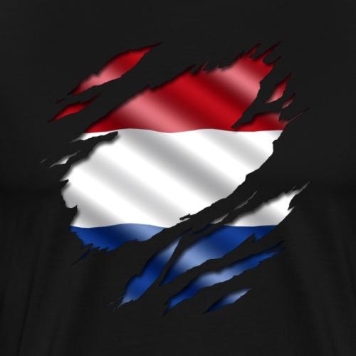 Niederlande unter dem Shirt. - Männer Premium T-Shirt