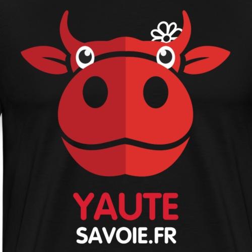 Logo Yaute Savoie noir - T-shirt Premium Homme