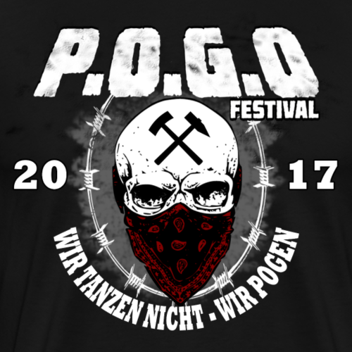 POGO FESTIVAL 2017 - Männer Premium T-Shirt