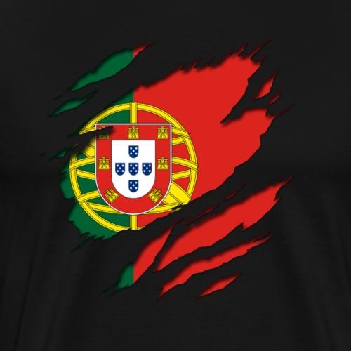 Portugal unter dem Shirt! - Männer Premium T-Shirt