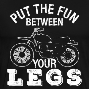 Funny Motorcycle T-Shirt - Men's Premium T-Shirt