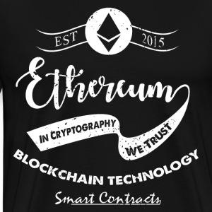 Ethereum vintage design - Men's Premium T-Shirt