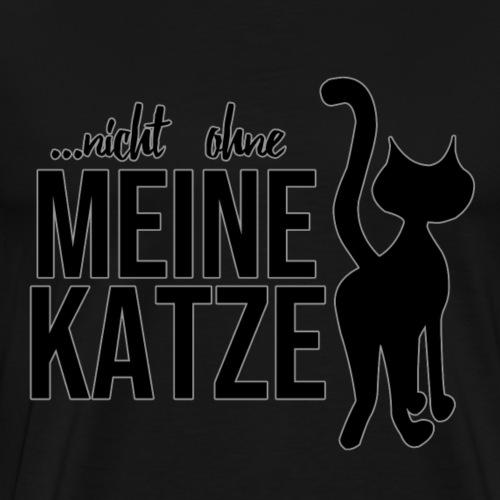 Katzenshirt - Katze - Geschenk - Spruch - Männer Premium T-Shirt