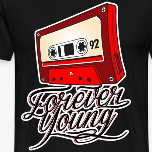 FOREVER YOUNG - Camiseta premium hombre