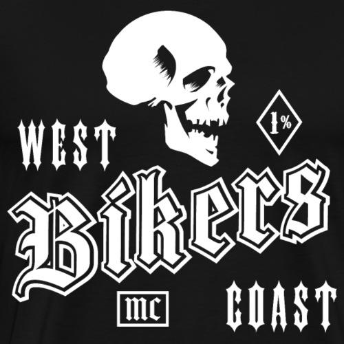 Motard de la cote ouest - T-shirt Premium Homme