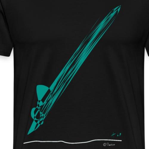 Line color - Männer Premium T-Shirt