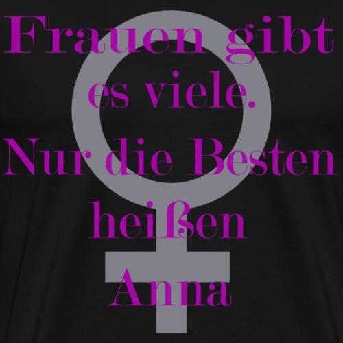 Frauen gibt es MOCKUP Anna - Männer Premium T-Shirt