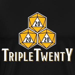 TripleTwenty - Whisky - Männer Premium T-Shirt