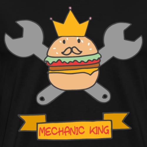 Mechaniker König Werkzeug Sketch Shirts Geschenk - Männer Premium T-Shirt