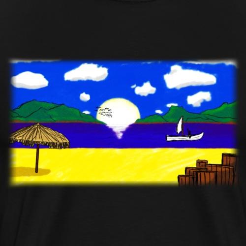 Beach - Strand - Männer Premium T-Shirt