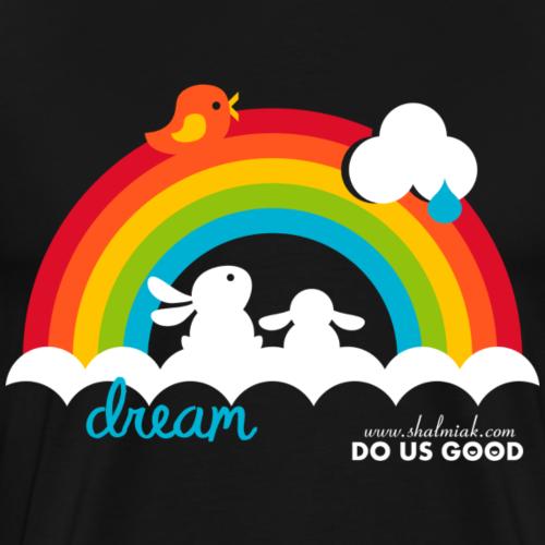 DREAM - Miesten premium t-paita