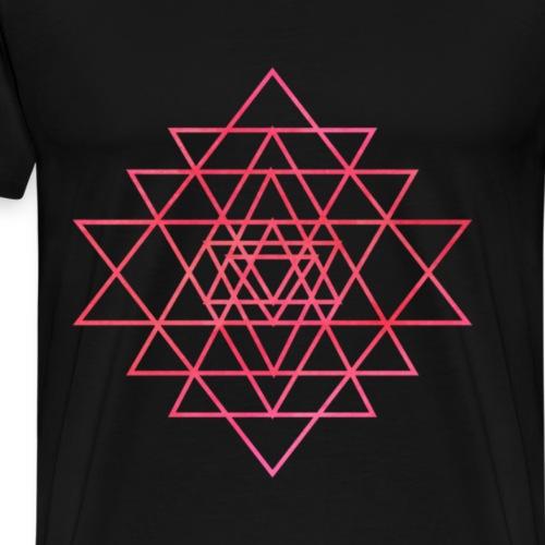 SRI YANTRA - Männer Premium T-Shirt