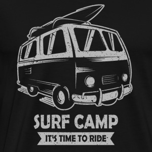 Surf Camp - Premium T-skjorte for menn